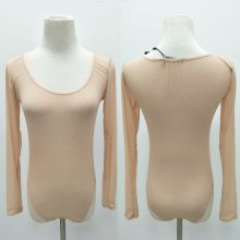 Liva Girl 2019 Nude Mesh Bodysuit Rompers Bodycon Jumpsuit Turtleneck Skinny Bodysuits Transparent New Women Sexy Body Clothing