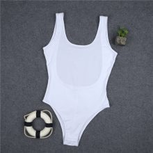 Hot sale 2019 fashion fitness bodysuit women sleeveless backless solid sexy bandage body rompers womens jumpsuit slim bodysuits