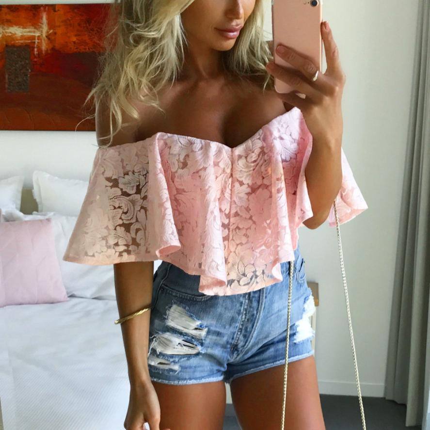 Summer Jumpsuit Women Draped Ruffle Short Sleeves Body White Bodysuits Women Sexy Rompers Overalls Combinaison Femme #DX2050