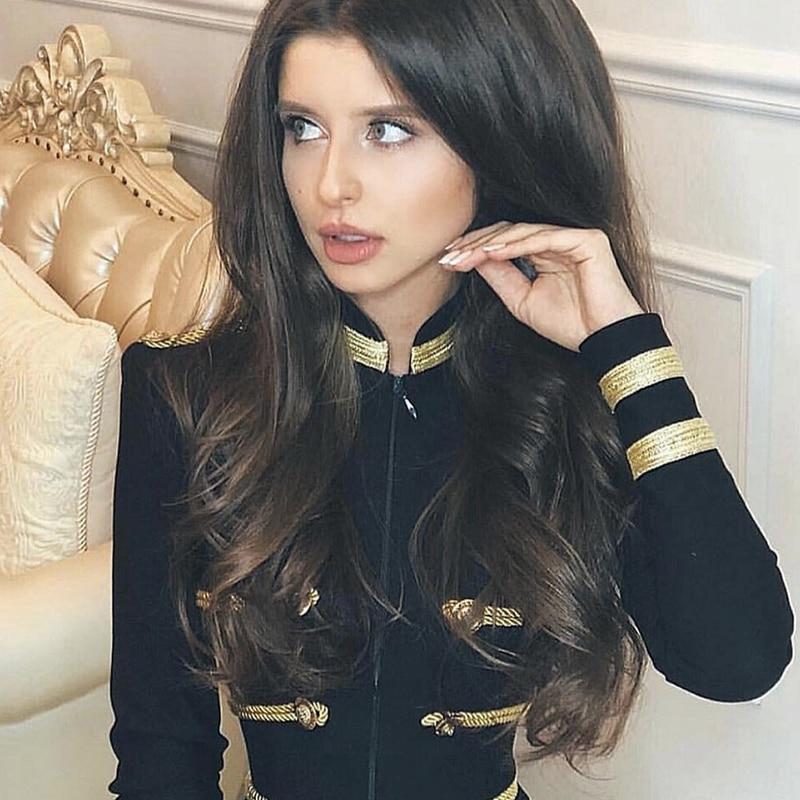Ocstrade Women Jackets Spring Autumn Coat 2019 Party High Quality Green Plus Size Elegant Long Sleeve Bandage Jacket Bodycon