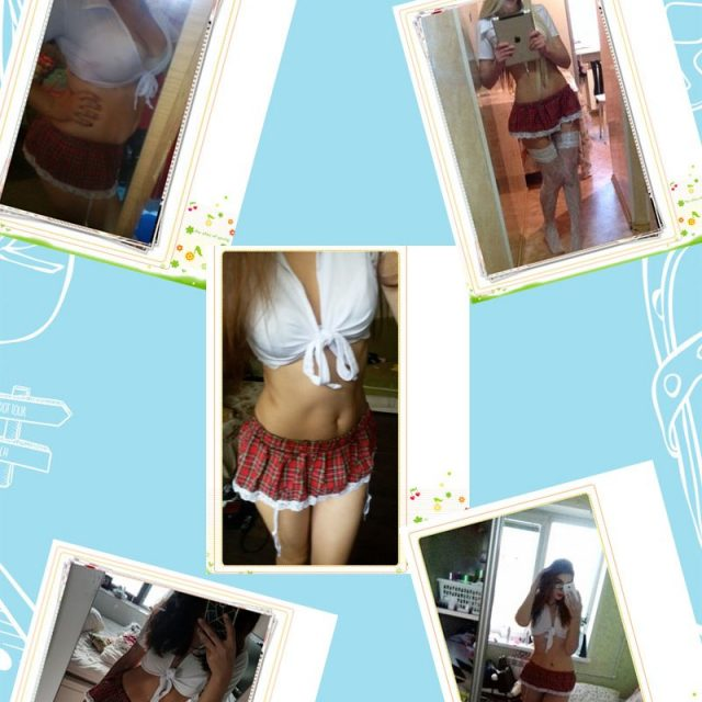 2PCS/Sets Sexy Uniforms School Girls Costume Mini Skirts Crop Tops Role Play School Lingerie Costume Carnevale Party Club Wear