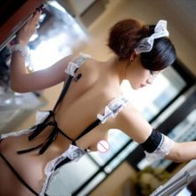 2017 cosplay french maid lingerie for women lace lenceria sexy ropa interior mujer lace erotica sous vetement femme costumes
