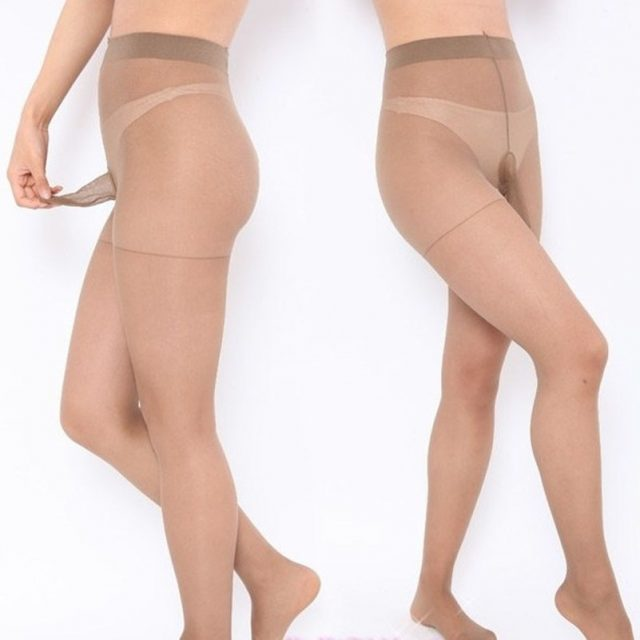 Hot Sexy Mens Tights Thin Pantyhose Plus Crotch Transparent Sexy Lingerie See Through Mens Pouch Sheath Stockings Sexy Costumes