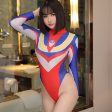 Altman Cosplay Sexy Costumes Kawaii Style Open Crotch Long Sleeves Detail Nightwear Lingerie