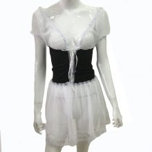 Sexy Costumes 2017 New Sexy Lingerie Hot France Style Maid Uniform Plus Size XXXL Sexy Maid Costume Lolita Halloween Maid Dress