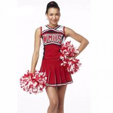 Baseball Cheerleading Glee Cheerleader Costume Aerobics Uniforms Performances Fancy Dress Size S-xl