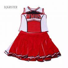 New Baseball Cheerleading Glee Cheerleader Costume Aerobics Clothing Uniforms for Performances Halloween Fancy Dress Size S-XL