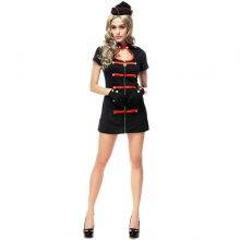 Women's Black Sexy Vampires Nurse Uniform Set Costume Cosplay For Girl Halloween Game Stage Bar Costume Cosplay
