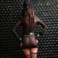 Police Sexy Women Costumes Erotic Wearing Role Playing Exotic Policewoman Clothes Temptation Transparent Police Uniforms