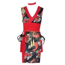 new sexy dance bar ds costumes cheongsam club singer performing cosplay kimono clothing for lady