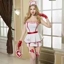 Women Japanese Sexy Nurse Costume Erotic Lingerie Role Play Free Shipping 3S1599 Sexy Nurse Uniform Set