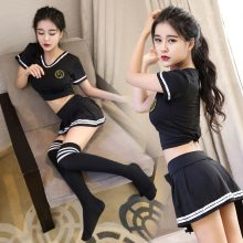 Sexy lingerie temptation suit sexy uniform role playing cosplay stage dress cheerleading team