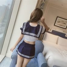 11.11 Sexy School Girls Uniform Students Suit Campus Uniform babydoll costumes Cosplay Adult Sex Games Fun porn erotic lingeries
