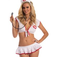 Sexy nurse costume doctor costumes Cosplay Ladies Plus Size Sexy Erotic Lingerie Women Sexy Porn Lingerie Erotic Role Play