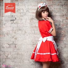 New Sexy Sweet Gothic Lolita Dress French Maid Costume Anime Cosplay Sissy Maid Uniform Plus Halloween Costumes For Women S-5XL