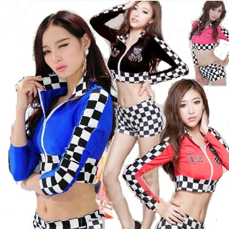 jazz dance costumes sexy costumes locomotive cheerleader costume woman performance costumes women dance wear