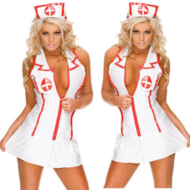 Nurse Cosplay Uniform Costume Women Sexy lingerie Doctor Role Play Outfits Suit many styles one size fit all