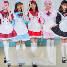 Beer Naughty Sissy Maid Dress Cosplay Sexy Costumes Lolita Pink Black Japanese