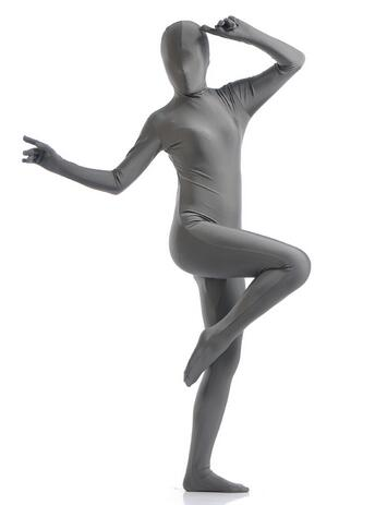 Sexy Lycra Spandex Zentai Full Body Suit Blinded Long Sleeve Bodysuit Jumpsuit Men Women Catsuit Halloween Zentai Costume