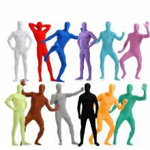 Lycra Full Body Zentai Suit Custome Second Skin Tight Suits Spandex Nylon Bodysuit Cosplay Costumes