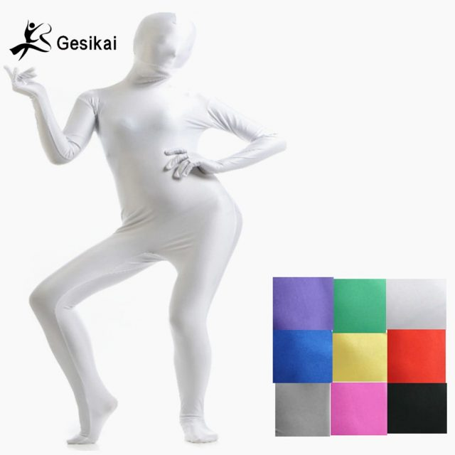 Adult Lycra Full Body Zentai Suit Custom for Halloween Women Second Skin Tight Suits Spandex Lycra Bodysuit Cosplay Costumes