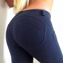 Leggings High Low Waist Push Up Elastic Fitness Sexy Pants Bodybuilding Leggin