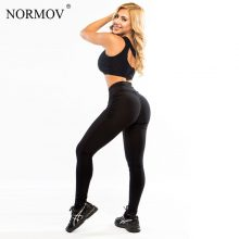S-xl Push Up Leggings Polyester Fitness Legging Large Size Black Slim Jeggings High Waist Trousers