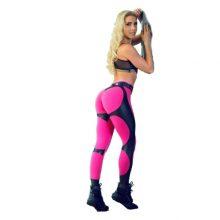 Fitness Heart Hip Print Women Push Up Leggings 2018 New Female Fitness Club Sportswear Workout Print Leggings