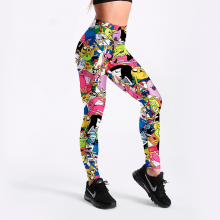 Leggings Fitness Amp Body Building Pants Workout Adventure Time Styles Printed Big Size