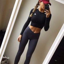 NORMOV Women Workout Polyester Jeggings S-XL 3 Colors Casual Push Up Leggings Breathable Slim Leggings Women