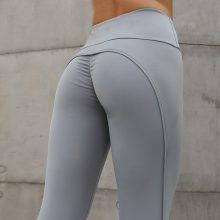 Push Up Leggings Plus Size Workout Leggins Pink Side Stripe Fitness Legging