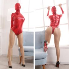 Fetish Slave Bondage Harness Totally Enclosed Hood Mask Conjoined Straitjacket Woman Sexy Erotic Toys Bdsm Bondage Sex Products