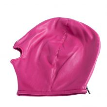 PU Leather Hood Mask Eye Mask Sexy Blindfold Headgear Head Bondage Restraints Harness Adult Game Slave Sex Products for Couples