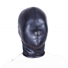 Pu Leather Fetish Sex Mask Bdsm Couples Flirting Bondage Totally Enclosed Hood