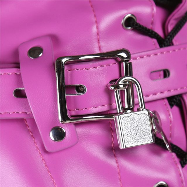 Women Sexual Toys Sexo Masks Hoods Lock Key Role Play Leather Zipper Erotic Adult Sex Toy For Couple Exotic Accessories