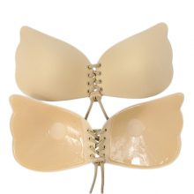 Women Invisible Bra Super Push Up Seamless Self-Adhesive Sticky Wedding Party Front Strapless A B C D Cup Fly Bra