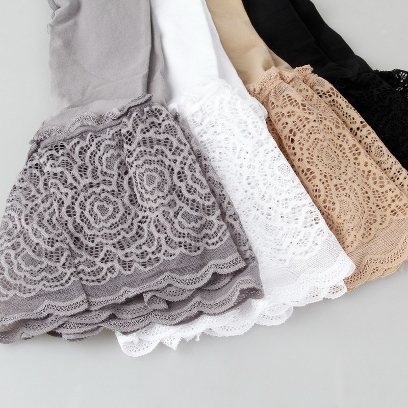Women Shorts Pants High Waist Black Lace Safety Pants Female Soft Comfortable Safety Underwear Boxer