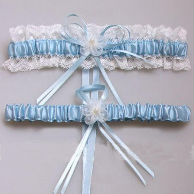 Wedding Leg Garter: Sexy Lace Bowknot Bridal Garter Set Bride Wedding