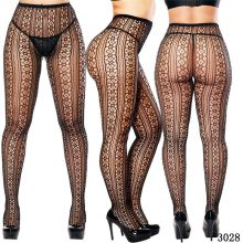 High Waist Pantyhose Women Lace Stocking Sexy Lingerie Elastic Stockings