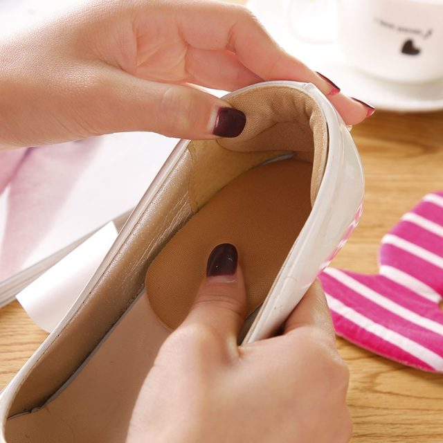 Soft Thickened 4D Foam Half Soles Insoles Shoes Back Inserts Heel Liner Cushion Protector Foot Care Shoe Pads Grips